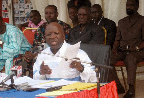 Simon Compaoré, maire sortant de Ouagadougou: