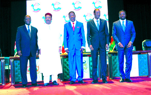 Sommet extraordinaire du Conseil de l'entente rénové: La boucle ferroviaire pour relancer l'intégration