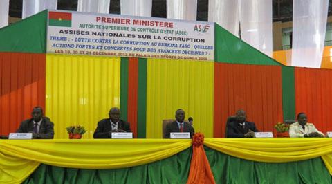 Lutte contre la corruption au Burkina: Luc Adolphe Tiao y voit quatre pistes