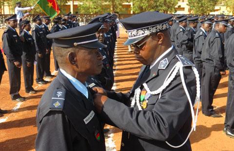 Burkina Faso: La Police nationale récompense ses meilleurs éléments