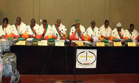 Législatives du 2 décembre: Les résultats définitifs proclamés par le Conseil constitutionnel