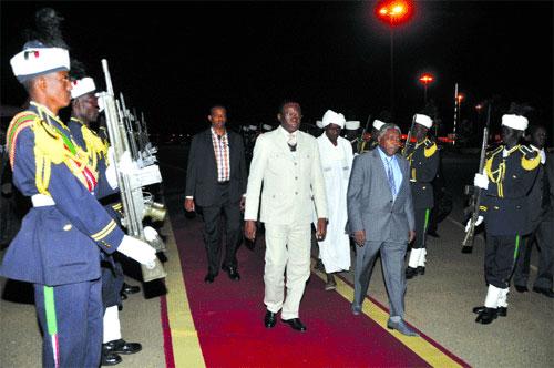 Visite du Premier ministre au Soudan: Un «cadeau de Noël» pour le Bataillon Laafi