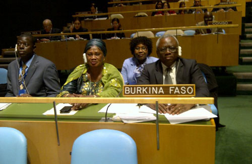 L'assemblée générale des Nations Unies adopte une résolution  sur l'élimination des mutilations génitales féminines