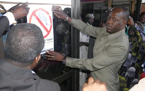 Aéroport international de Ouagadougou: désormais espace sans tabac