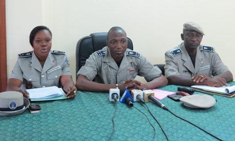 Fêtes de fin d'année: la Police nationale dévoile son dispositif de sécurisation de Ouagadougou