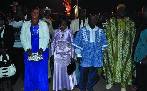 Nuit de la Saint-Sylvestre dans la capitale: Musique, danse, feu d'artifice, les Ouagalais se sont éclatés