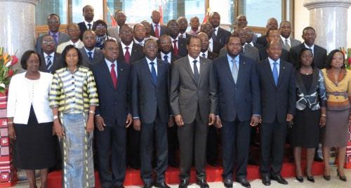 Burkina Faso: Les visages des ministres du nouveau gouvernement