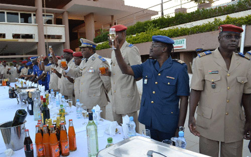 Forces armées nationales: Des vœux au chef d'Etat-major général, Nabéré Honoré Traoré