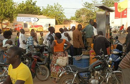 Pénurie de carburant à Koupela
