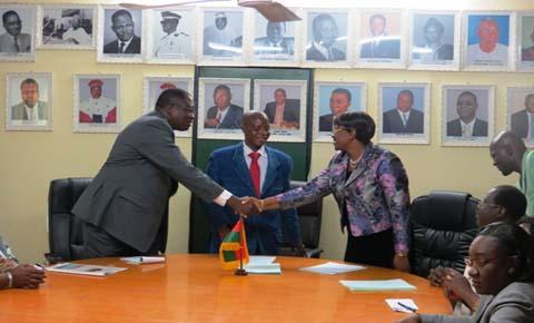 Ministère de la justice: Dramane Yaméogo prend les commandes
