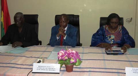 Ministère de l'action sociale: Alain Zoubga s'installe