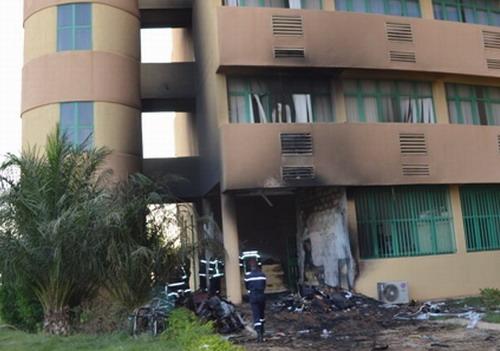 Incendie au ministère de l'Agriculture: Plus de peur que de mal