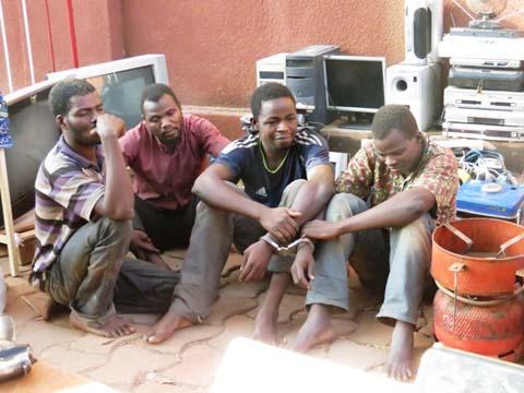 Insécurité: fin de cavale pour 4 délinquants