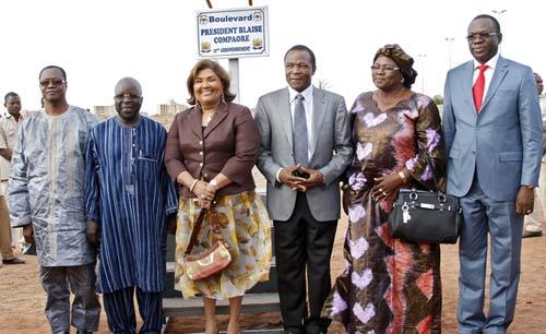 Un boulevard de la capitale porte désormais le nom du Président Blaise COMPAORE