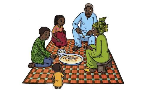 Vision Express sur…: Le repas en famille