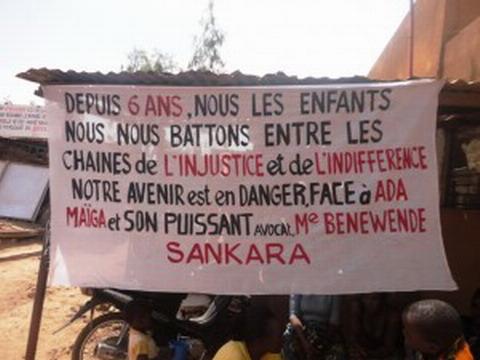 Tribunal correctionnel de Ouagadougou: Deux condamnés pour faits de rébellion dans l'affaire de la famille Dabré contre Me Sankara