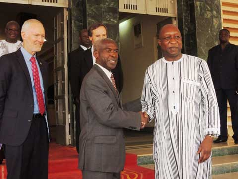 Coopération: Tulinabo Mushingi invite le Burkina à deux fora aux Etats-Unis