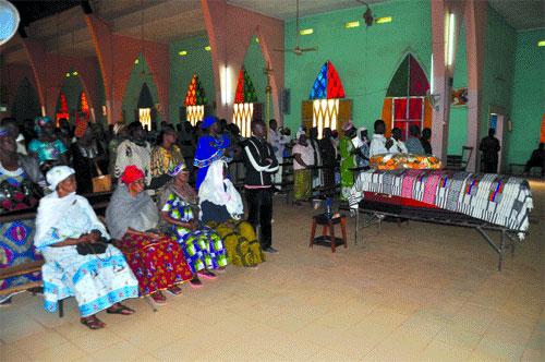 Obsèques de Babou Richard Benon: L'ultime adieu à un ouvrier de la plume