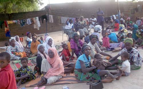 Une vie de déplacé: De leurs cases «dorées» aux tentes de déplacés