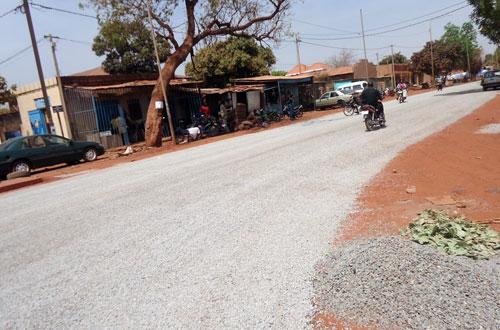 Conseil régional des Hauts-Bassins: Baba Traoré a eu son goudron au secteur 10