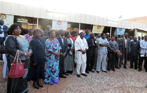 Vœux de nouvel an: Le personnel du siège du CDP sacrifie à la tradition