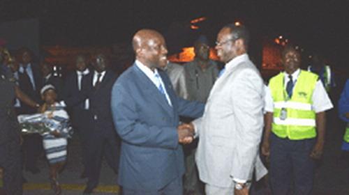 Burkina - Côte d'Ivoire: Le premier ministre Luc Adolphe TIAO en terre ivoirienne:
