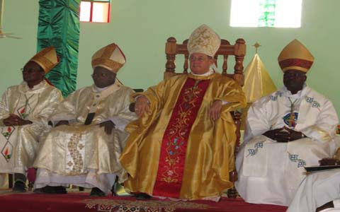 DEDICACE: Notre Dame de Yagma  a enfin son église