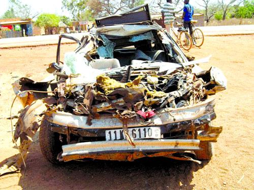 Accident de la circulation: Deux morts et deux blessés graves à Kari