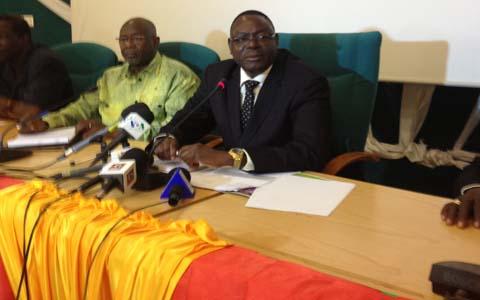 Sécurité alimentaire au Burkina: Mahama Zoungrana se veut rassurant.
