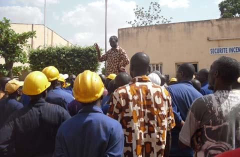Crise à la SN-CITEC: Les travailleurs demandent le départ du DG