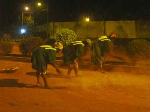 CÉLÉBRATION DU 8-MARS 2013: La contribution de la brigade verte de Bobo-Dioulasso