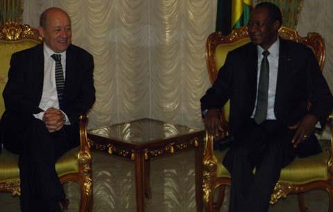 Jean-Yves Le Drian, ministre français de la Défense: «Il va y avoir des élections au Mali, il faut qu'elles se tiennent».