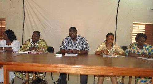 Commémoration du 8 mars: les femmes syndicalistes réfléchissent  à la Bourse du travail de Ouagadougou