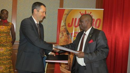 JUMBO: Partenariat gagnant avec O.BOU.F