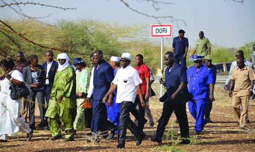 Célébration du 11-Décembre à Dori: Le Premier ministre visite les sites retenus pour l'évènement
