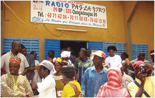 La radio Pag-la-yiri de Zabré: Un chantre de la paix