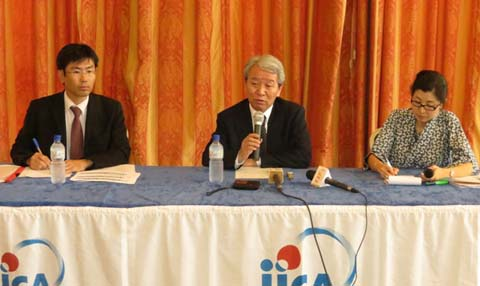 JICA-Burkina: Tanaka Akihiko fait une revue des projets