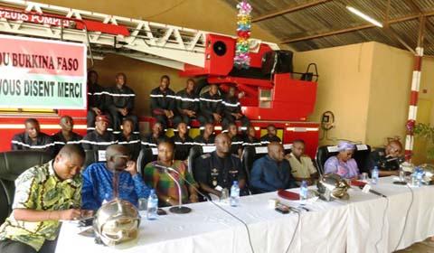 Collecte de fonds en faveur des Sapeurs-Pompiers de Ouaga: 33 millions de Francs CFA récoltés