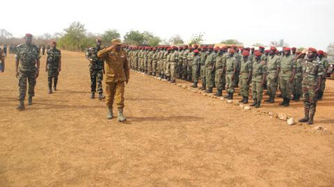 Armée burkinabè et Soutien à la paix au Darfour:  800 éléments du bataillon Laafi 5 prêts à être déployés