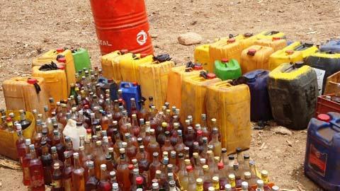 Burkina: 2635 litres de carburant frelaté saisis à Ouagadougou
