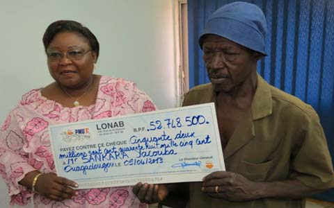 ''4+1'' DU 26 MARS 2013 : Sankara Yacouba empoche 52.748.500FCFA!
