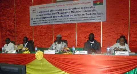 L'effectivité de l'assurance maladie au Burkina: Des rencontres de concertations sont lancées