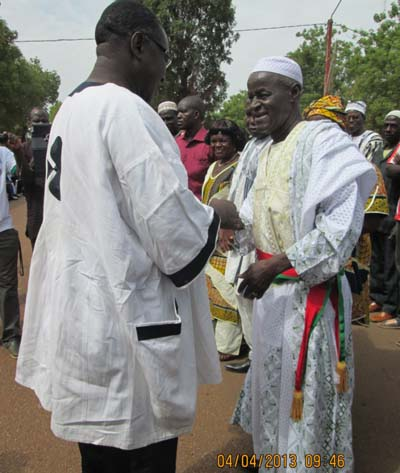 COMMUNE URBAINE DE FADA N'GOURMA:  Moumouni Kocty installé à la tête de la mairie pour un second mandat