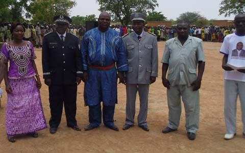 Commune de Soudougui: le maire Sougrinoma Poubéré installé