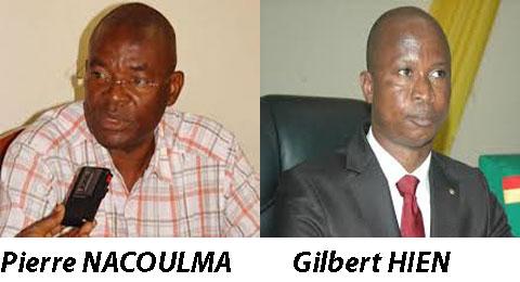 Ligue des consommateurs du Burkina: La justice confirme Pierre Nacoulma, Gilbert Hien fait appel