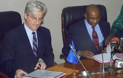 Union Européenne: 13,11 milliards FCFA  pour la bonne gouvernance dans les Etats de l'Afrique de l'ouest