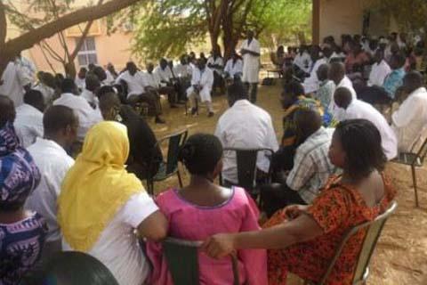 Santé Yatenga: «Le SYNTSHA demande le départ du directeur régional»
