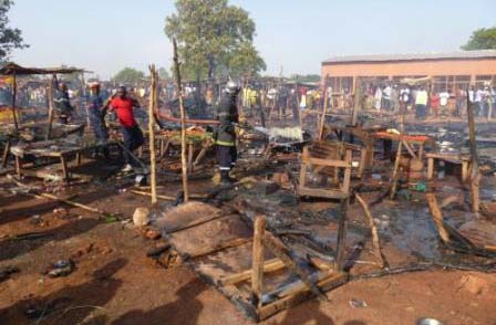 Bobo-Dioulasso: Le marché de Lafiabougou prend feu