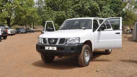 Vol d'une 4 x 4 à Ouagadougou: Le conducteur, présumé complice