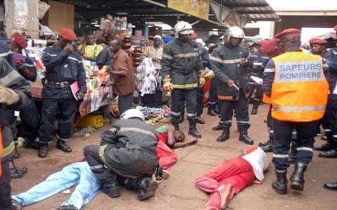 Installations anarchiques au grand marché de Bobo-Dioulasso: Attention au désordre, source potentielle d'incendie!